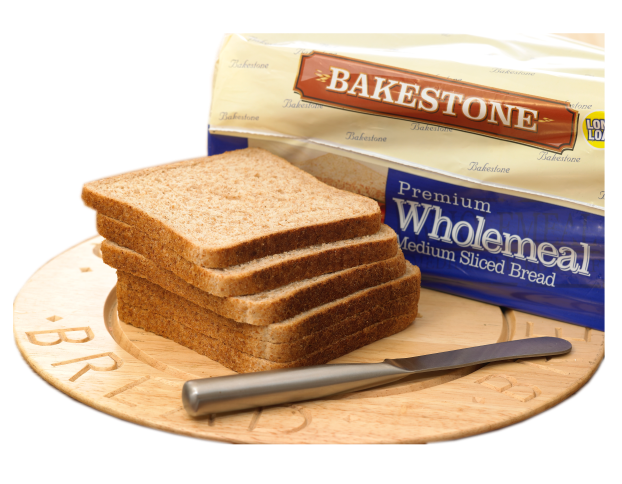 Wholemeal sliced