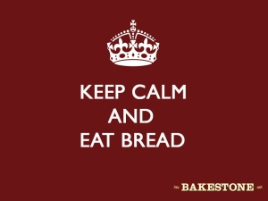 Keep calm and eat bakestone bread!