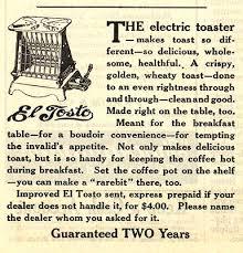 El Tosto hotpoint toaster