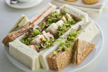 Assortment of sandwiches