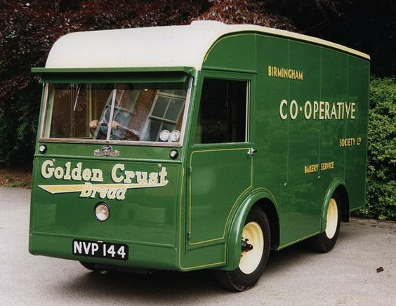 Bakery vehicle used in Birmingham area