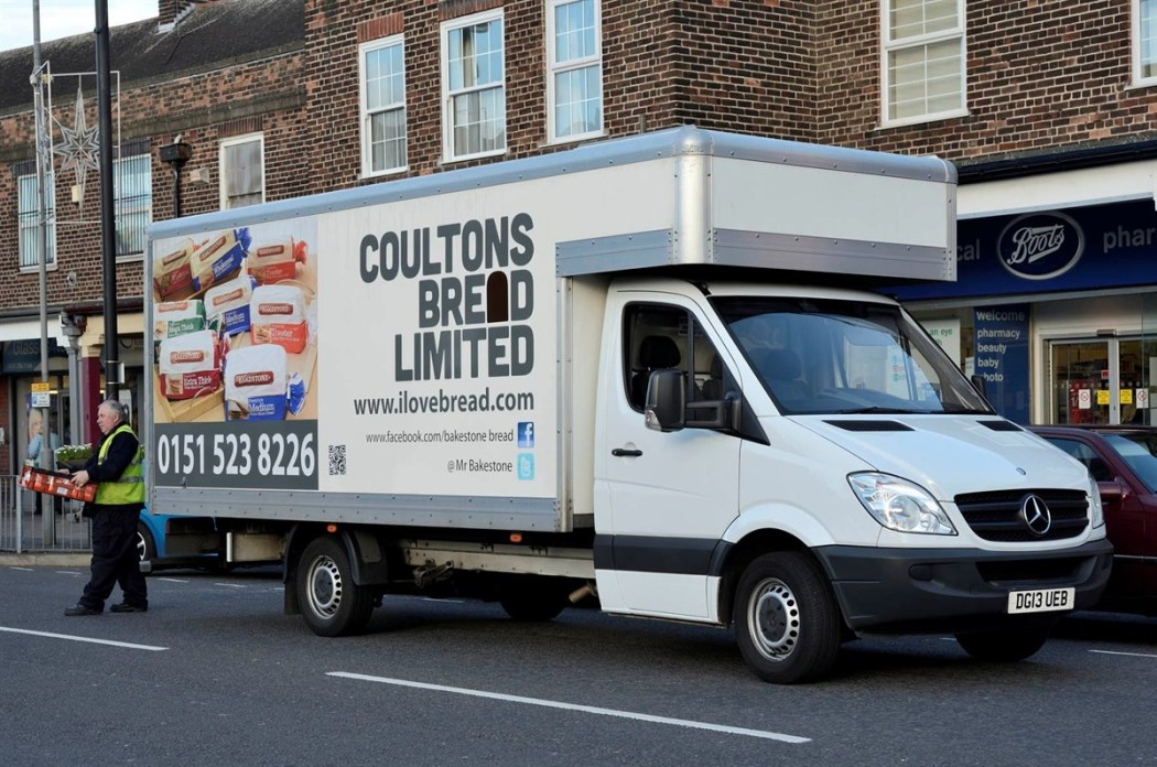 Coultons New van
