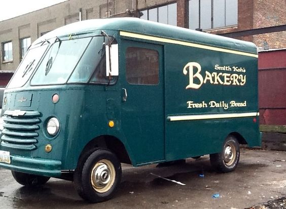 Smiths bakery van