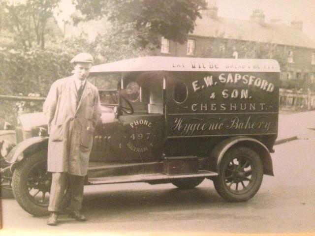 Bread van from Cheshunt